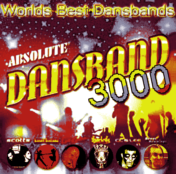 KMPLX024 Various Artists - Absolute Dansband 3000
